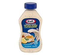 Kraft Sauce Tartar Natural Lemon Flavor & Herb - 12 Oz