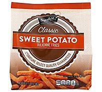 Signature SELECT/Kitchens Potatoes Julienne Fries Sweet Potato - 20 Oz