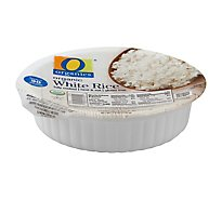O Organics Organic Rice Bowl White - 7.4 Oz