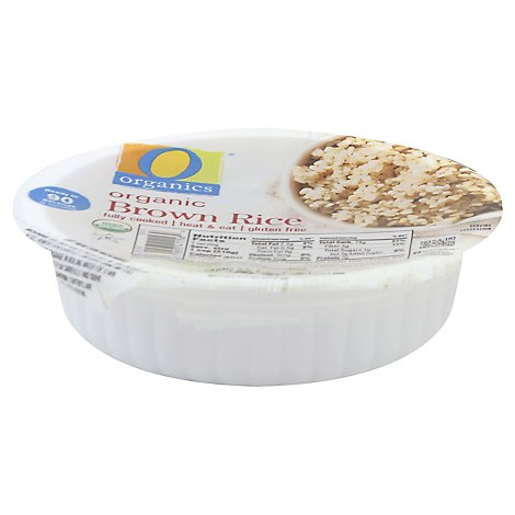 O Organics Organic Rice Brown Cup - 7.4 Oz