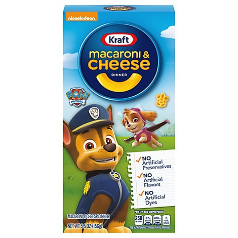 Kraft Macaroni & Cheese Dinner Descpicable Me Box - 5.5 Oz