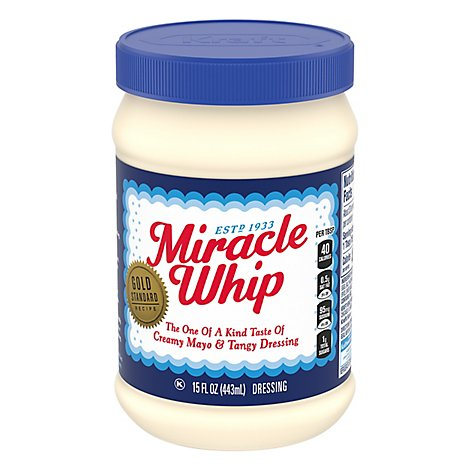 Kraft Miracle Whip Dressing Original - 15 Fl. Oz.