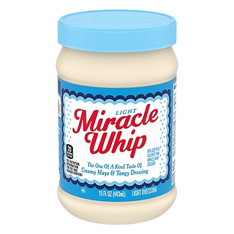 Kraft Miracle Whip Dressing Light - 15 Fl. Oz.