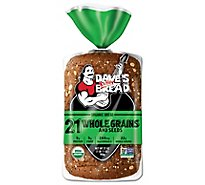 Daves Killer Bread Organic 21 Whole Grains - 27 Oz