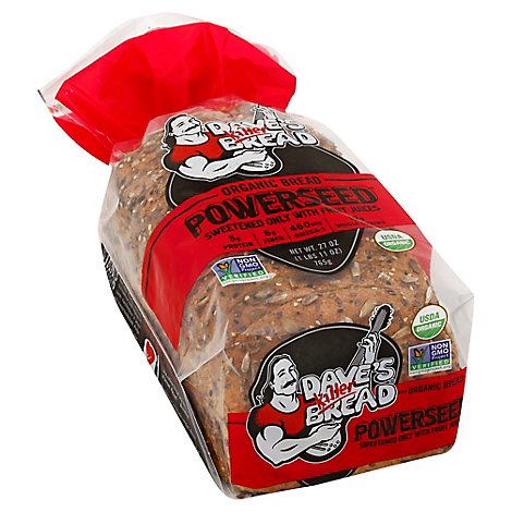 Daves Killer Bread Organic Power Seed High Fiber - 27 Oz