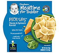 Gerber Pick-Ups Cheese & Spinach Ravioli Tray 6 Oz