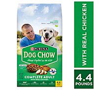 Dog Chow Dog Food Dry Complete Chicken - 4.4 Lb