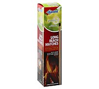 Diamond Greenlight Matches Long Reach Extra Thick - 75 Count