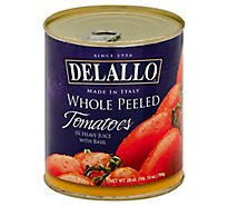 DeLallo Tomatoes Peeled - 28 Oz