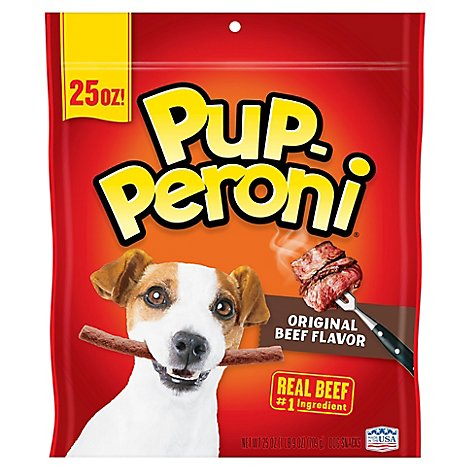 Pup-Peroni Dog Snacks Original Beef Flavor - 25 Oz