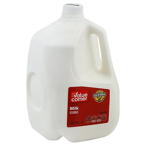 Value Corner Whole Milk - 1 Gallon