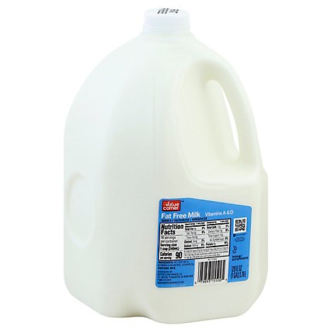 Value Corner Fat Free Milk - 1 Gallon