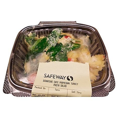Signature Cafe Parmigianoesan Turkey Pasta Salad 0.50 LB