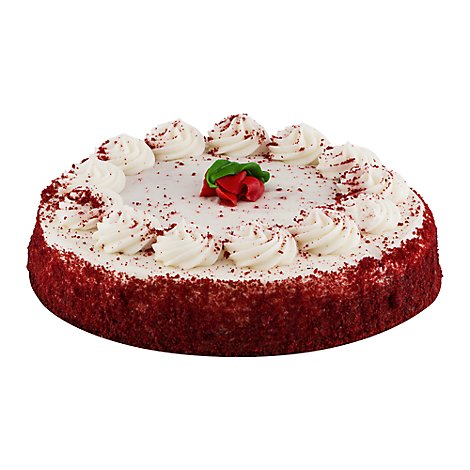 Bakery Cake Red Velvet 8 Inch 1 Layer - Each