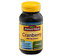 Nature Made Cranberry 450 Mg - 60 Count