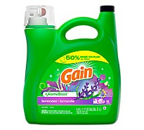 Gain Plus Aroma Boost Laundry Detergent Liquid Lavender 96 Loads - 150 Fl. Oz.