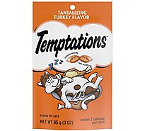 TEMPTATIONS Classic Cat Treats Tantalizing Turkey Flavor - 3 Oz