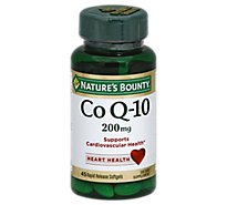 Natures Bounty Dietary Supplement Softgels Co Q-10 - 45 Count