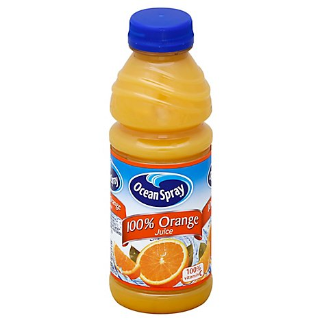 Ocean Spray 100% Juice Orange - 15.2 Fl. Oz.