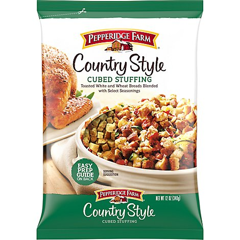 Pepperidge Farm Stuffing Cubed Country Style Bag - 12 Oz