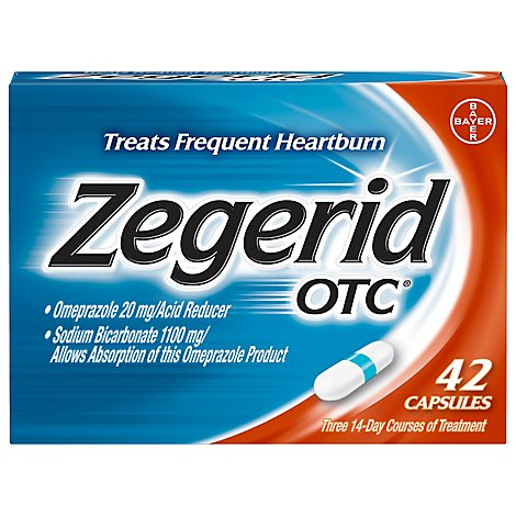 Zegerid Acid Reducer - 42 Count