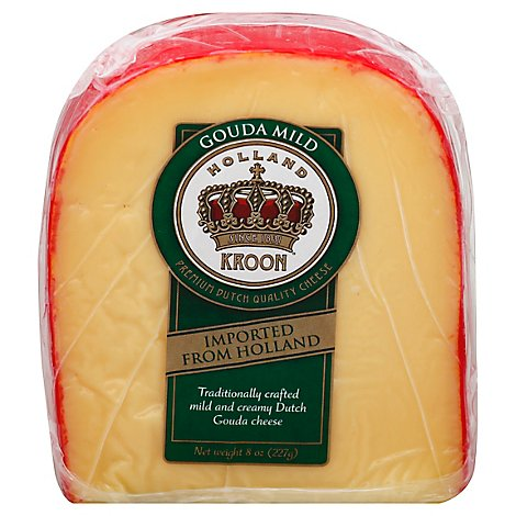 Holland Kroon De Jong Cheese Gouda - 8 Oz