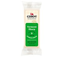 Cabot Cheese Cheddar Vermont Sharp - 8 Oz