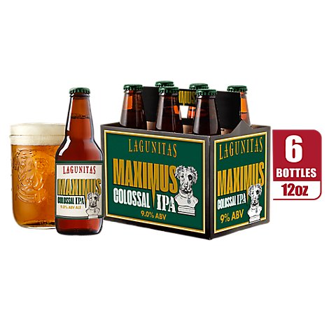 Lagunitas Maximus Bottles - 6-12 Fl. Oz.