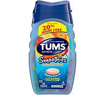 Tums Smoothies Asstd Fruit 20% More Free - Each