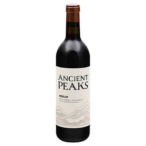 Ancient Peaks Merlot Wine - 750 Ml