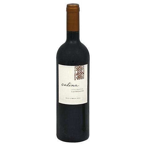 Calina Carmenere Wine - 750 Ml