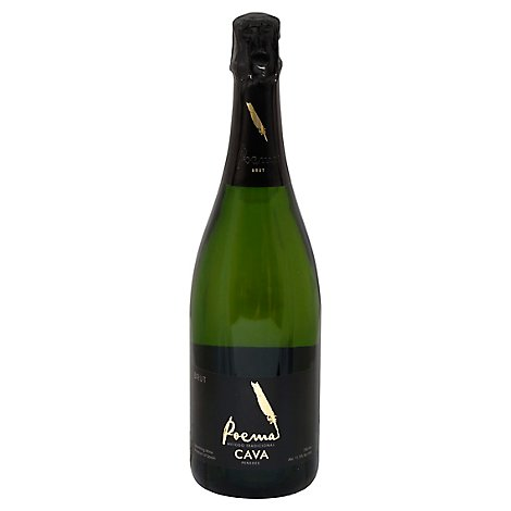 Poema Sparkling Brut Wine - 750 Ml