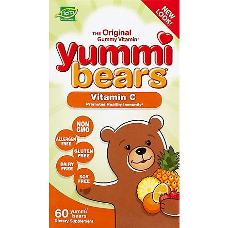 Yummi Bears Vitamin C - 60 Count