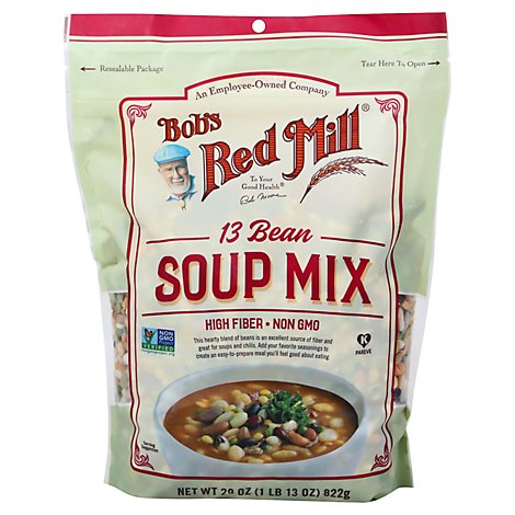 Bobs Red Mill Soup Mix 13 Bean - 29 Oz