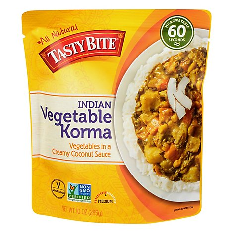 Tasty Bite Vegetable Korma Entree - 10 Oz