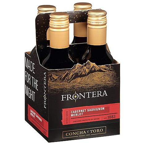 Frontera Made For The Night Wine Cabernet Sauvignon Merlot Multipack - 4-187 Ml