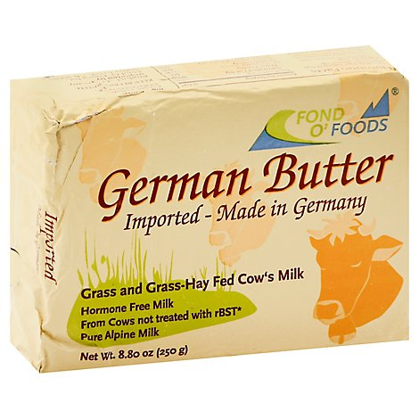 Fond O Foods German Butter - 8.7 Oz