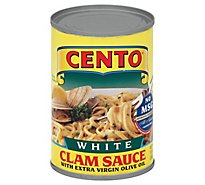 CENTO Clam Sauce White Can - 10.5 Oz