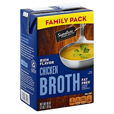 Signature SELECT Broth Chicken Value Size - 48 Oz