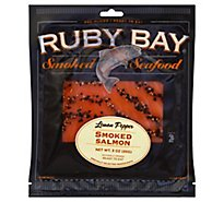 Ruby Bay Salmon Lemon Pepper Sliced - 3 Oz