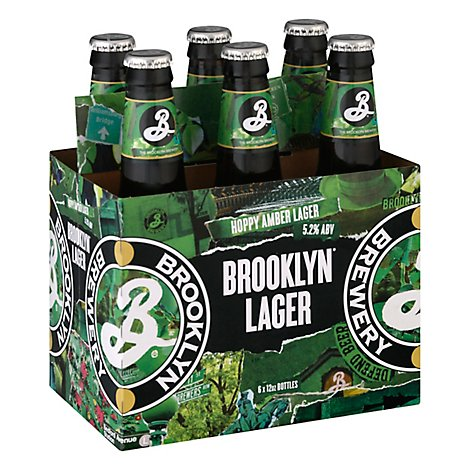 Brooklyn Brewery Beer Lager Pre-Prohibition Style - 6-12 Fl. Oz.