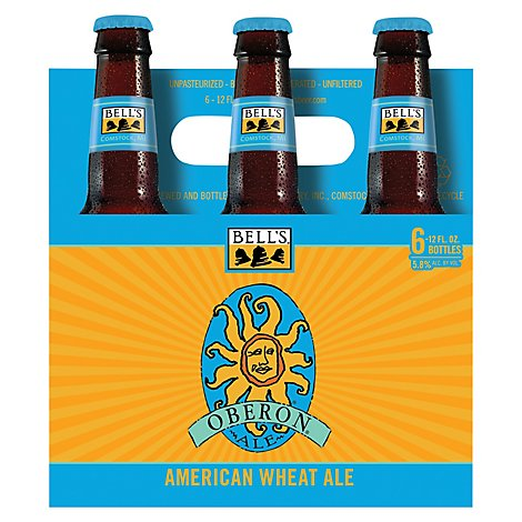 Bells Beer Ale Oberon - 6-12 Fl. Oz.