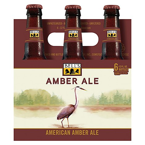 Bells Beer Amber Ale - 6-12 Fl. Oz.