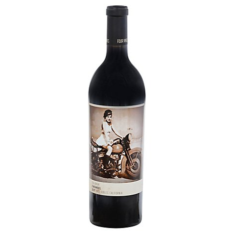 Four Vines Biker Zin Wine - 750 Ml