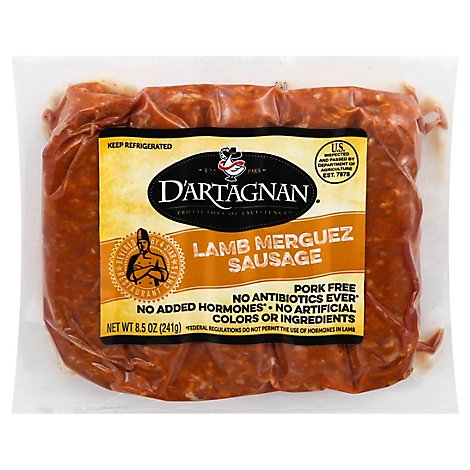 Dartagnan Sausage Lamb Merguez Game - 10 Oz