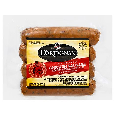 Dartagnan Sausage Chicken Southwest - 9 Oz
