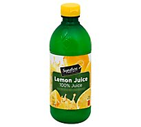 Signature SELECT Juice Lemon - 15 Fl. Oz.