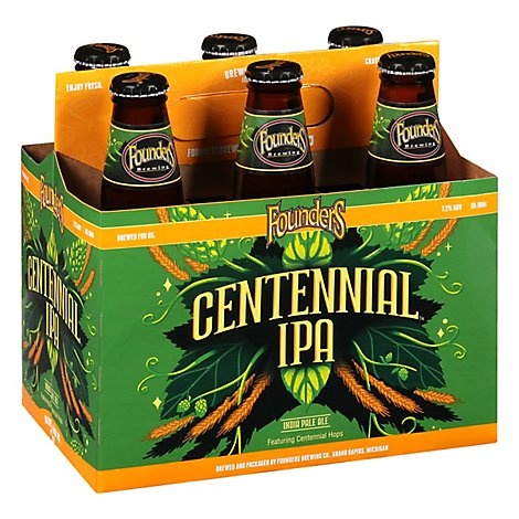 Founders Brewing Centennial IPA Bottles - 6-12 Fl. Oz.