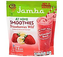 Jamba Juice Smoothies Strawberries Wild - 8 Oz