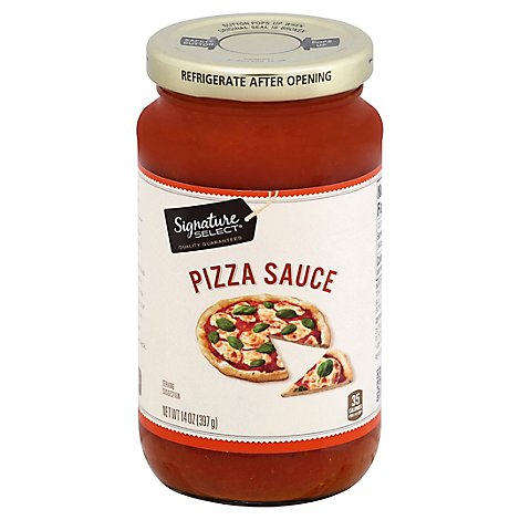 Signature Select Pizza Sauce Jar 14 Oz Safeway